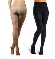 Компресійні колготи, Tonus Elast 0404 Lux , закритий носок, чорний, 1 зростання, 2, фото 1