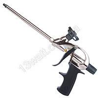 Пистолет для пены с тефлоновым покрытием держателя баллона + 4 нас. PT-0604