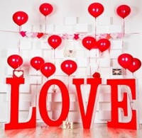 Декоративный элемент Love, л1