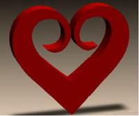 Сердце декоративное, с5