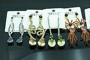 Выгодное предложение! Вечерние серьги по акционной цене. Удлинённые женские серьги оптом дёшево.