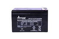 Cвинцово-кислотный аккумулятор Gaspower LPC 12-14 (12V, 14 Ah,  260 циклов)