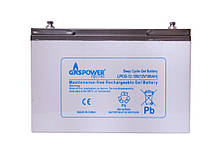 Гелевый аккумулятор Gaspower Electro LPCG 12-100 (100 Aч 400 циклов)
