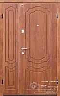 Двери входные полуторные на улицу ТМ Абвер модель Milena код: код: 4-1200