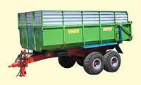 Тракторный прицеп ТСП-14 к тракторам МТЗ-82, грузоподъемностью 10,5 т и объемом 10-17 м3, фото 1