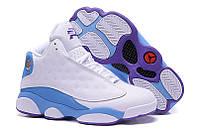 Мужские кроссовки Air Jordan Retro 13 СP3 Chris Paul (White/Blue), фото 1