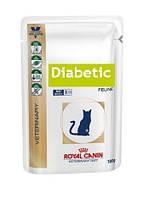 Лечебный корм для кошек Royal Canin DIABETIC FELINE 100 г