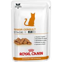 Лечебный консервированный корм для кошек старше 7 лет Royal Canin Senior Consult Stage 2 WET Pouches - 100 г