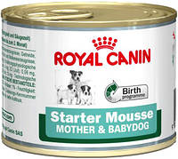 Консервы для щенков Royal Canin STARTER MOUSSE  195 г