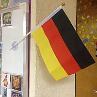 Флаг Германии, флаг на присоске в автомобиль, прапор Німеччини