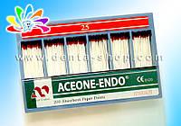 ACEONE-ENDO — Штифты абсорбирующие бумажные, стандартные, № 25