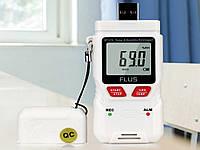 Регистратор температуры и влажности Flus ET 176 USB, фото 1