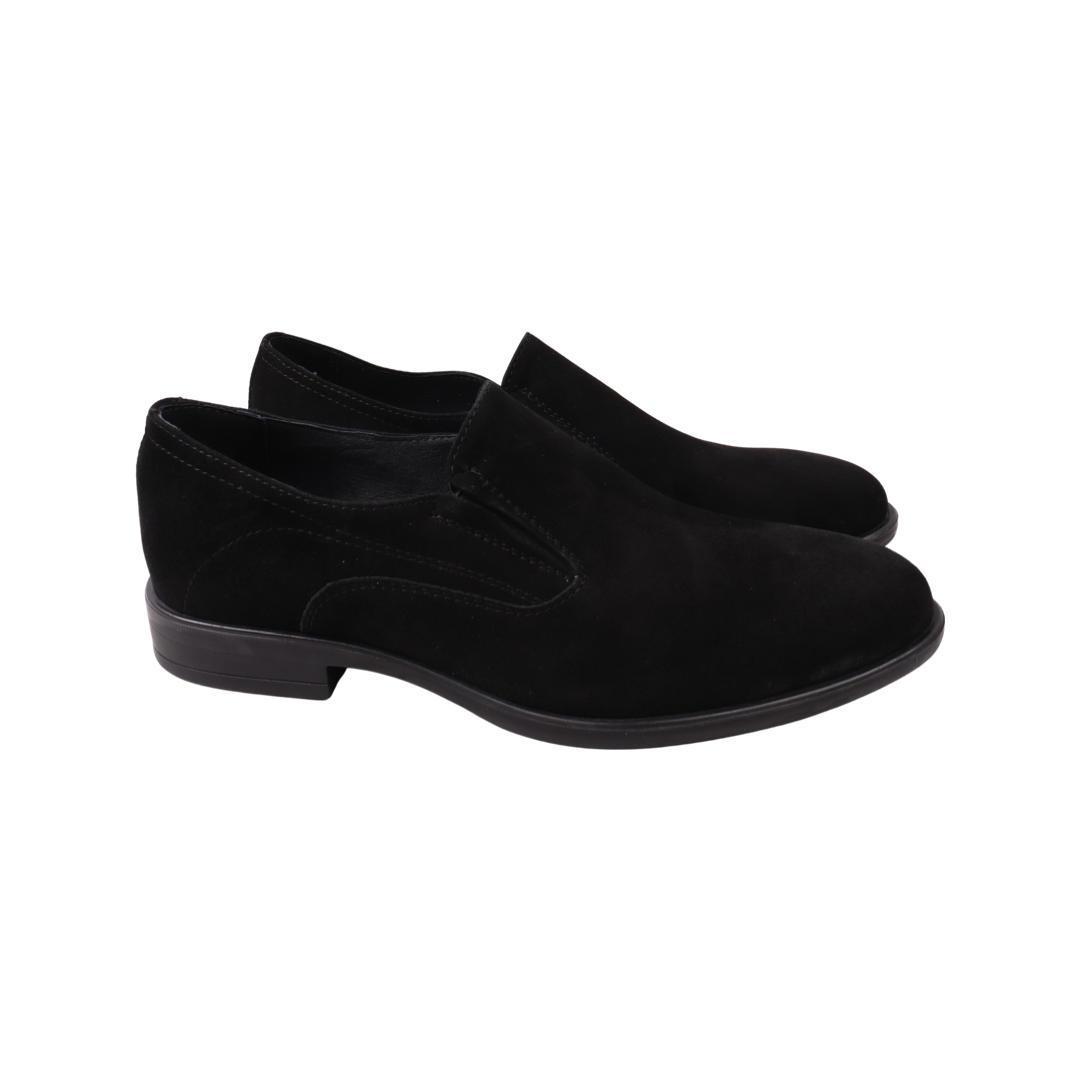 Туфлі чоловічі Vadrus чорні натуральна замша