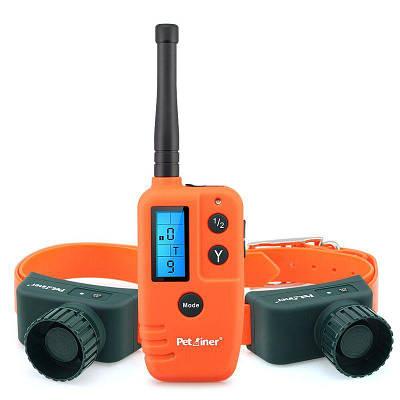 Электронный ошейник с 2-мя биперами для 2-х охотничьих собак Petainer PET910-2