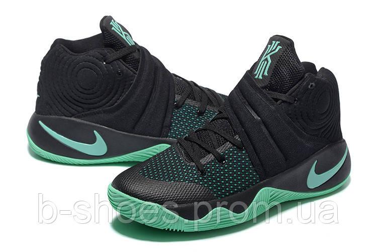 Мужские Баскетбольные кроссовки Nike Kyrie 2 (Black/Mint)