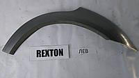 Накладка на крыло заднее левая Rexton II