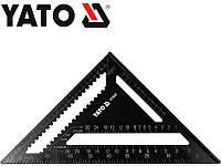 Угольник Свенсона плотницкий алюминиевый 300 мм YATO YT-70787