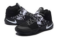 Мужские Баскетбольные кроссовки Nike Kyrie 2 (Black/White), фото 1