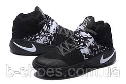 Мужские Баскетбольные кроссовки Nike Kyrie 2 (Black/White)