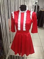 Платье женское в красном цвете