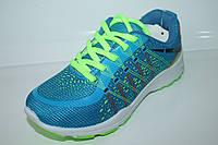 Кроссовки для подростков оптом от производителя Super Gear WT-HH016 Blue (31-36)