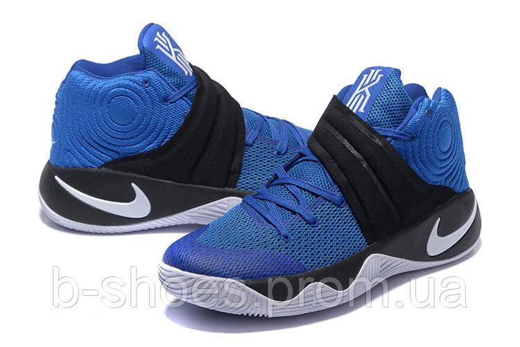 Мужские Баскетбольные кроссовки Nike Kyrie 2 (Blue/Black)
