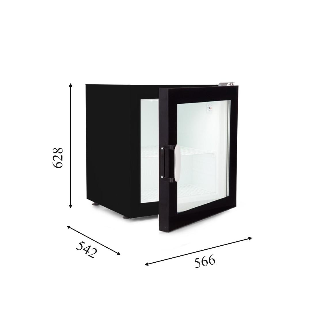 CRTF 70 Морозильный шкаф со стеклянной дверью CRYSTAL S.A. Греция