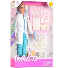 Лялька типу Барбі ветеринар DEFA 8346B з собачками та інструментом