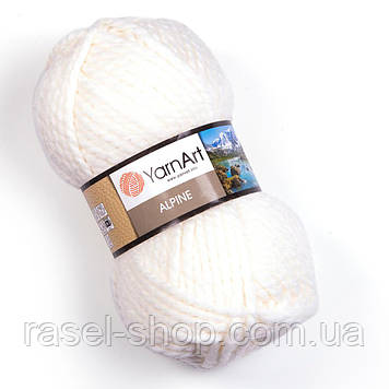 YarnArt Alpine белый №330