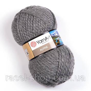 YarnArt Alpine серый №344