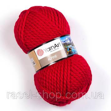 YarnArt Alpine красный №340