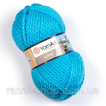 YarnArt Alpine бирюза №339