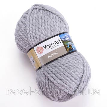 YarnArt Alpine светло серый №334