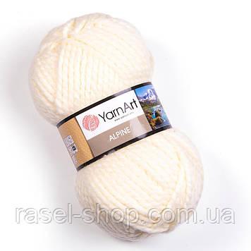 YarnArt Alpine молочный №333
