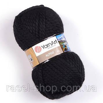 YarnArt Alpine черный №331