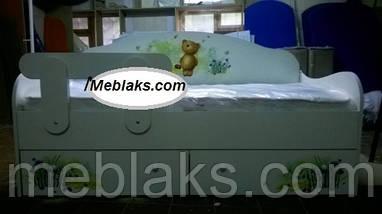 """Кровать диванчик """"Мишка с медом"""" Mebelkon, фото 3"""