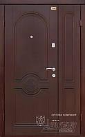 Двери стальные полуторные на улицу с МДФ ТМ Абвер модель Dolce Vita код: код: 13-1200