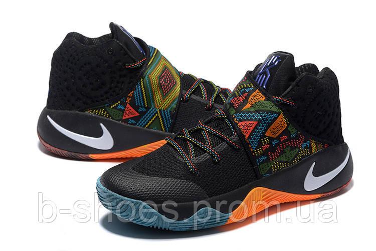 Мужские Баскетбольные кроссовки Nike Kyrie 2 (Black/Multicolor)