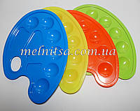 Палитра пластиковая,  22х16см,  10 ячеек