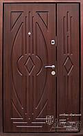 Дверь входная полуторная на улицу ТМ Абвер модель Astoria код: код: 20-1200