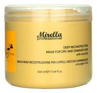 Відновлююча маска з маточним молочком - Mirella Professional Bee Form Reconstructing Mask 500ml
