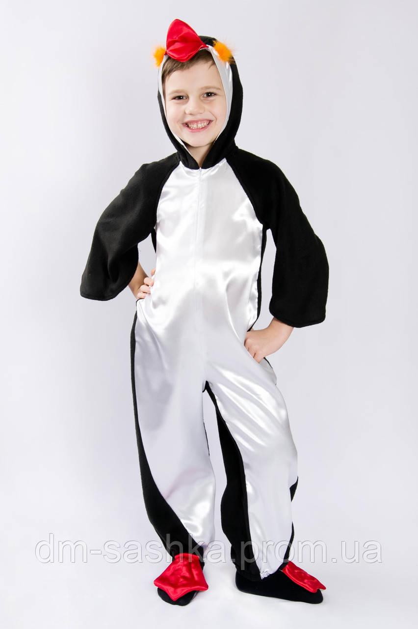 Детский карнавальный костюм Пингвин 80р.