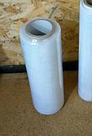 Упаковочная стрейч плёнка 0,5кг ширина 25см  белая прозрачная