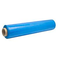 Упаковочная синяя стрейч плёнка 2 кг ширина 50см