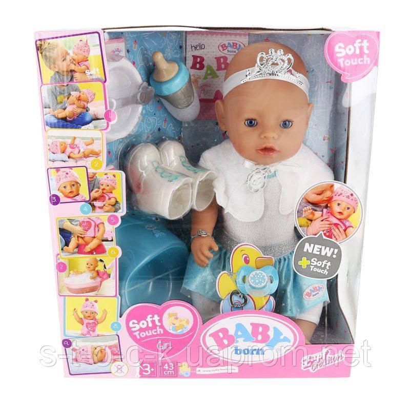 "Кукла BABY BORN ""Балерина"" Soft Touch Balerina 43cm, 831250 ZAPF"