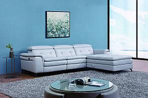 """Кутовий диван """"Доменіко"""" димчасто-сірий (L)"""