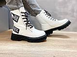 Білосніжні зимові чобітки для дівчаток Тому.м, фото 2