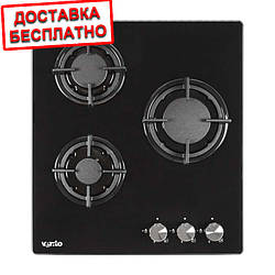 Варочная поверхность газовая Ventolux HG430-G1G CS (BK)