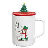 Чашка новогодняя 400 мл. (8805-006)