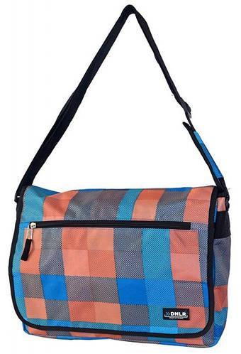 Молодежная изящная сумка Daniel Ray полиэстер 43,563910 голубая